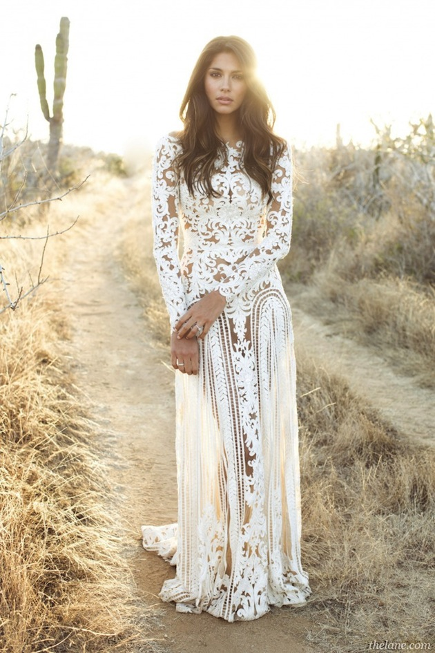 long-sleeve-lace-wedding-dress-Bridal-Musings-20