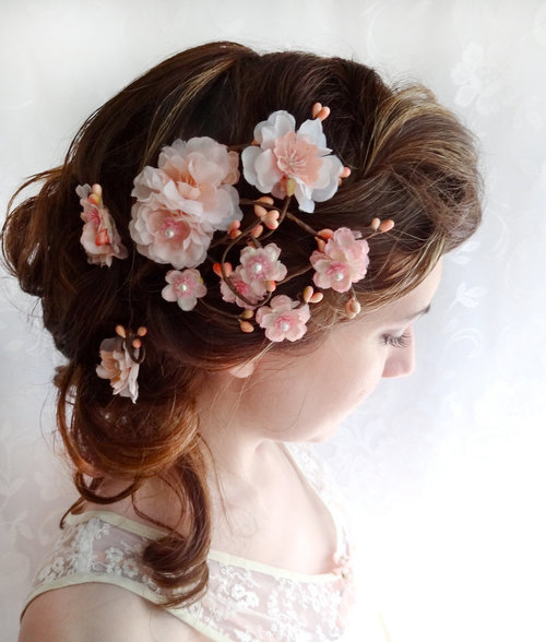 cherry+blossom+headpiece