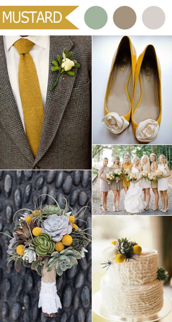 rustic-mustard-and-neutral-wedding-color-ideas-for-fall-2016-by-pantone