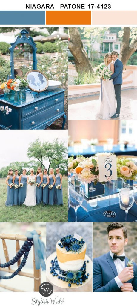 romantic-pantone-color-niagara-and-pink-wedding-colors-for-2017-trends