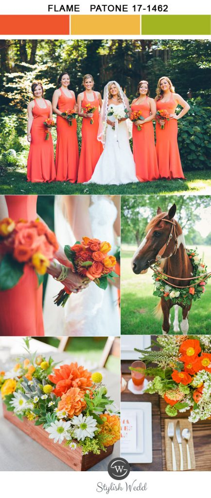 vivid-flame-woodland-spring-and-summer-wedding-colors-for-2017-trends